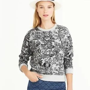 J. Crew | Toile Classic French Sweatshirt